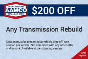200$ off any transmission rebuild coupon